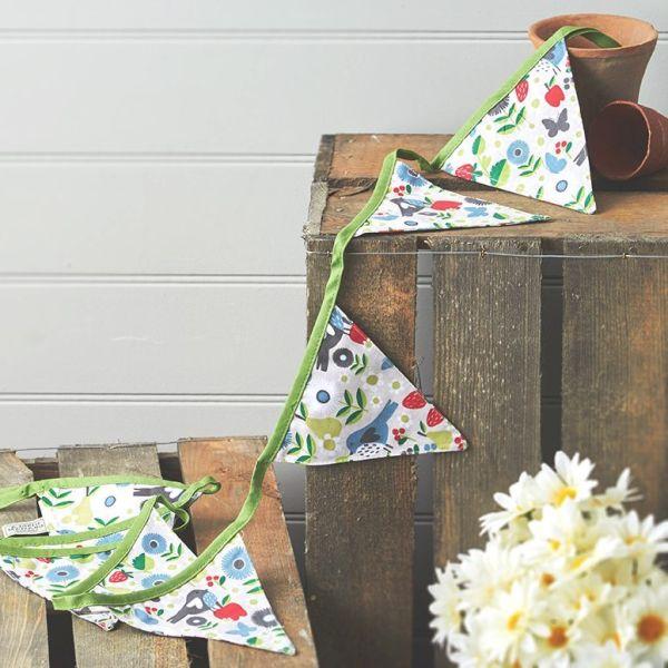 guirlande textile d'anniversaire